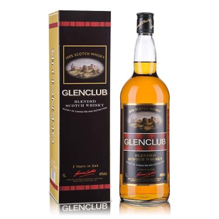 40°英国格兰俱乐部苏格兰威士忌1000ml