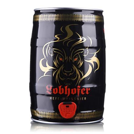德国欢伯瑞狮小麦白啤酒5L
