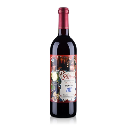 法国西夫拉姆酒堡特级干红葡萄酒(80年老树葡萄)750ml