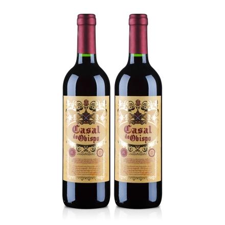 西班牙卡萨尔教皇半甜红葡萄酒750ml(双瓶装)