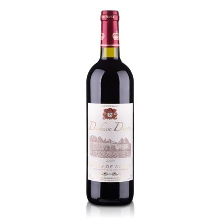 【清仓】法国德和斯庄园干红葡萄酒750ml