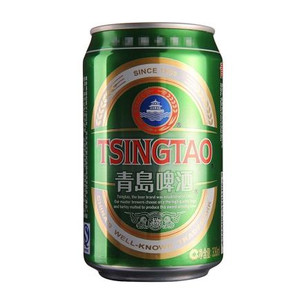 【清仓】青岛啤酒经典330ml
