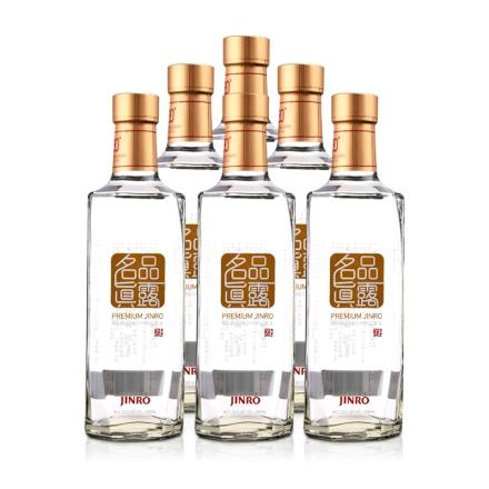 【清仓】30°名品真露-韩国烧酒450ml(光瓶6瓶装)