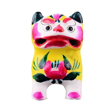 高密非物质文化泥塑叫虎(乐享)