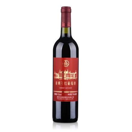 中国五粮液亚洲干红葡萄酒赤霞珠750ml