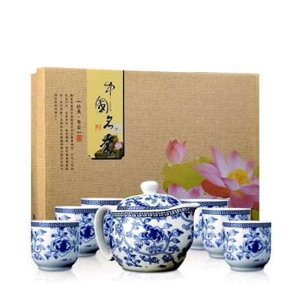 青花瓷--精美茶具套装