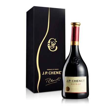 法国酒庄香奈西拉干红葡萄酒750ml礼盒装