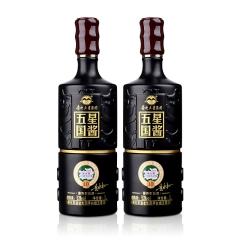 53°贵州五星国酱金腰带1000ml(双瓶装)