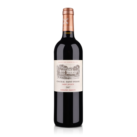 (列级庄·名庄正牌)法国圣皮尔酒庄2007干红葡萄酒750ml(又名:圣皮埃)