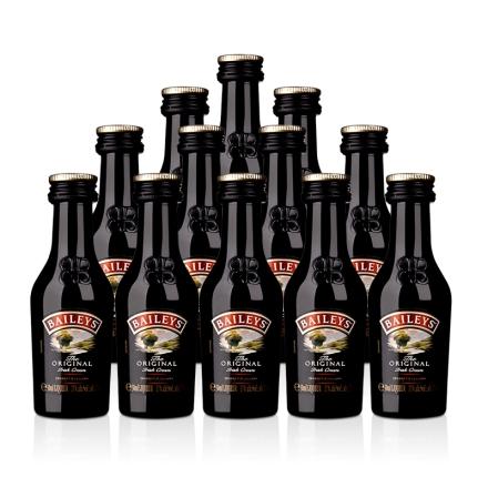 17°爱尔兰百利甜酒(配制酒)50ml(12瓶装)