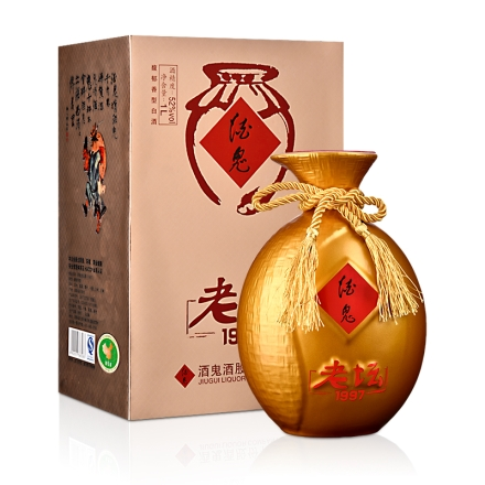 52°酒鬼老坛酒(金坛1997)1000ml