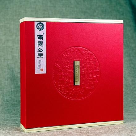 【清仓】吾家有位南国公主普洱生茶红色礼盒装357g
