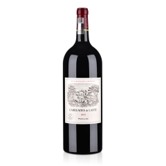 (列级庄·名庄·副牌)法国红酒法国拉菲罗斯柴尔德珍宝干红葡萄酒1500ml 2013(又译:小拉菲)