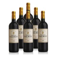 (列级庄·名庄正牌)法国大宝酒庄2008干红葡萄酒750ml(6瓶套装)