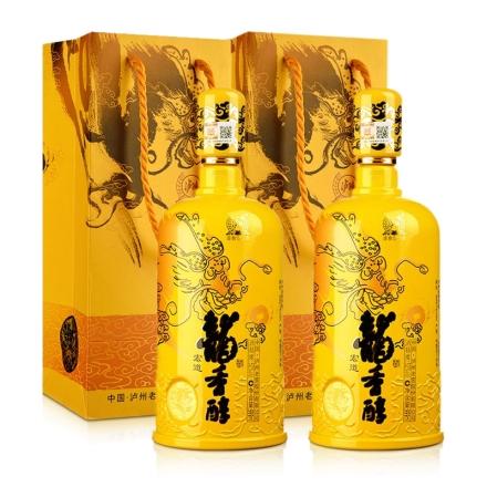 52°泸州老窖·龙香醇999ml(双瓶装)
