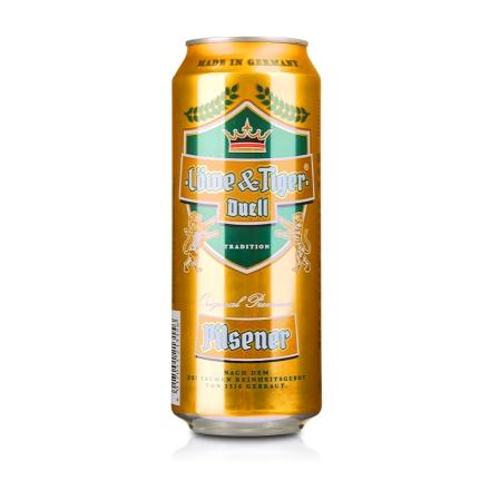 德国狮虎争霸比尔森啤酒500ml