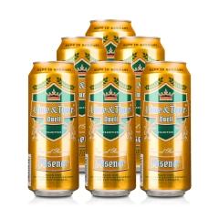 德国狮虎争霸比尔森啤酒500ml(6瓶装)