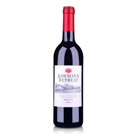 澳洲红酒澳大利亚奔富洛神山庄梅洛红葡萄酒750ml