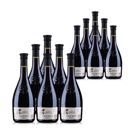 法国圣贝克干红葡萄酒750ml(12瓶装)