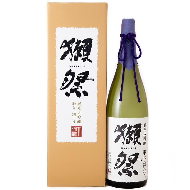 16°日本獭祭二割三分 纯米大吟酿清酒 1800ml