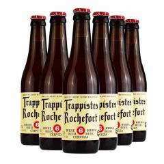 比利时进口罗斯福6号修道院啤酒(Rochefort)330ml*6