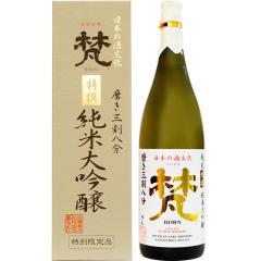 16°日本梵三割八分 纯米大吟酿清酒 1800ml