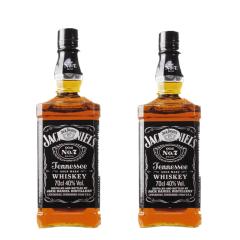 40°美国杰克丹尼700ml*2瓶