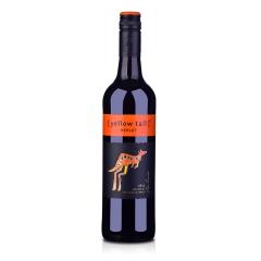 澳洲红酒澳大利亚黄尾袋鼠梅洛红葡萄酒750ml