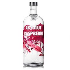 40°瑞典absolut vodka绝对伏特加覆盆莓味700ml