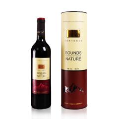 香格里拉天籁赤霞珠干红葡萄酒圆桶礼盒750ml