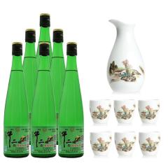 42° 牛二犇原浆 480ml六瓶装+(陶瓷酒具)