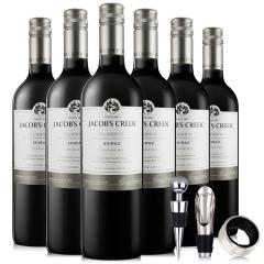 澳洲杰卡斯经典系列西拉干红葡萄酒 750ML*6 整箱装