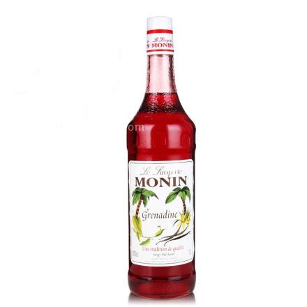 莫林MONIN红石榴味糖浆(调酒必备)700ml