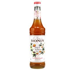 莫林MONIN百香果风味糖浆(调酒必备)700ml