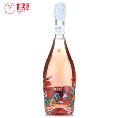 意大利之花桃红起泡葡萄酒甜型750ml