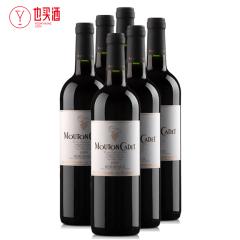 木桐嘉棣红葡萄酒750ml   6支装