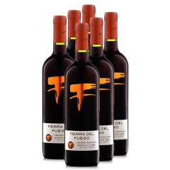 火地岛经典赤霞珠干红葡萄酒750ml 6支装