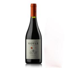智利进口红酒 柯莱窖藏级别西拉干红葡萄酒  750ml