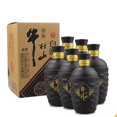 35°牛栏山百年珍藏老酒250ml*6瓶(无原箱)