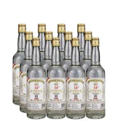 58°台湾阿里山高粱酒600ml(12瓶装)