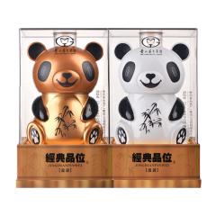 52°茅台集团习酒经典品位熊猫盈盈珍藏级礼盒装1.5L*2