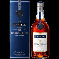 40°法国进口洋酒Martell马爹利蓝带干邑白兰地700ml