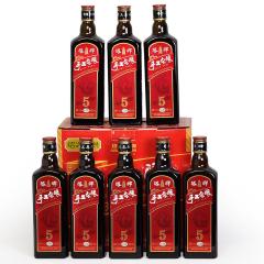 塔牌五年陈整箱礼盒500mlx8瓶半干型绍兴黄酒手工冬酿花雕酒 糯米老酒