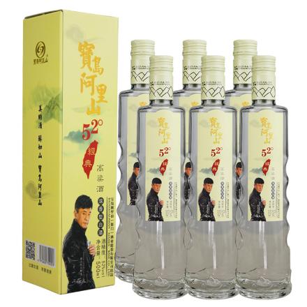 52°台湾高粱酒经典500ml(6瓶装)