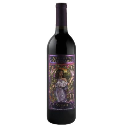 美国索伊兰西拉干红葡萄酒2012     750ML
