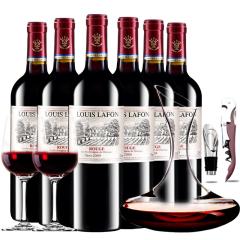 路易拉菲2009王子干红葡萄酒红酒整箱送醒酒器装750ml*6
