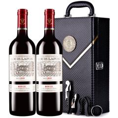 路易拉菲2009珍酿原酒进口红酒男爵古堡干红葡萄酒 红酒礼盒装 750ml*2