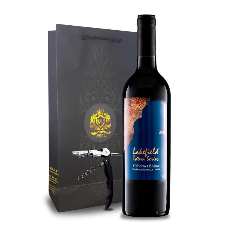 澳洲原瓶进口利菲庄园图腾赤霞珠西拉干红葡萄酒750ml