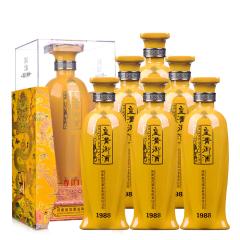 42°皇沟御酒尊贵1988 500ml(6瓶装)