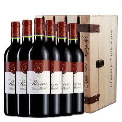 醉梦红酒 法国拉菲原瓶进口AOC级红酒 珍藏梅多克法定产区干红葡萄酒整箱750ml